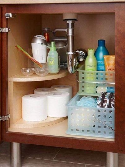 5 cool under sink storage ideas