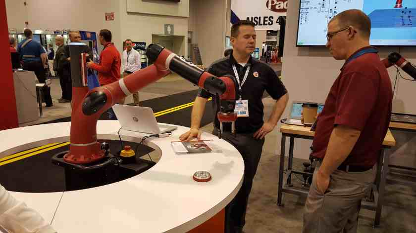 Collaborative Robots - Making Manufacturing Jobs More Valuable!