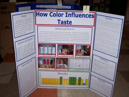 Can Our Eyes Fool Our Taste Buds? Science Fair Project ...