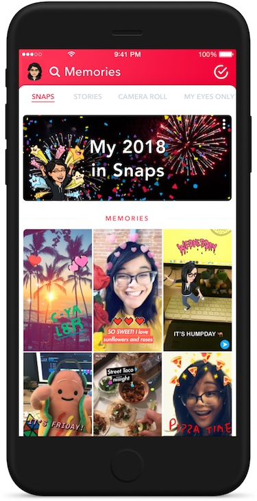Snapchat Year End Story