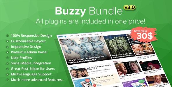 , Buzzy – News, Viral Lists, Polls and Videos, Laravel & VueJs, Laravel & VueJs