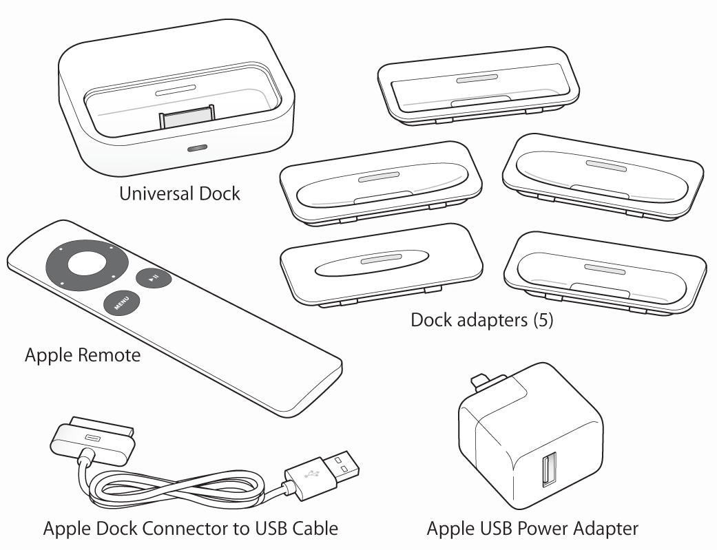 Universal Dock Is Not Working For Ipod Cl