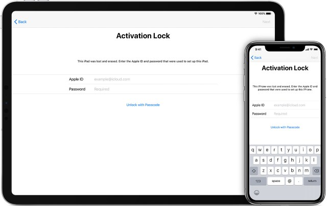 Activation Lock for iPhone, iPad and iPod touch – Apple Support (UK)