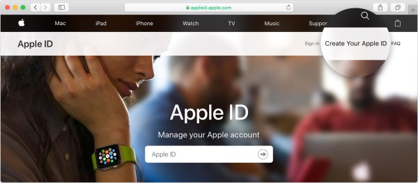 How to create a new Apple ID - Apple Support