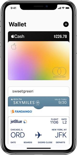 Apple Card in the Wallet app