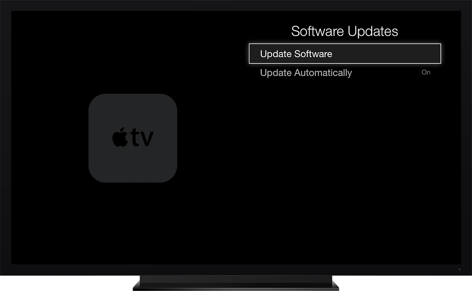 I can t update my AppleTv  3rd generation      Apple Community User uploaded file