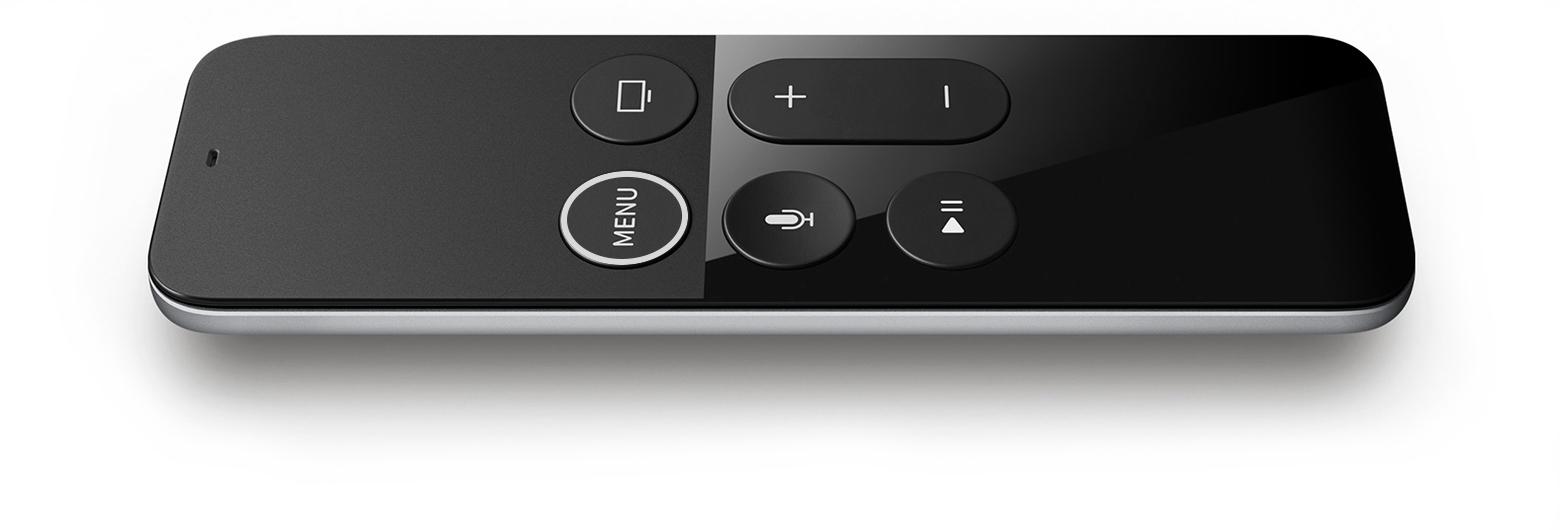 apple tv 4k siri remote hero