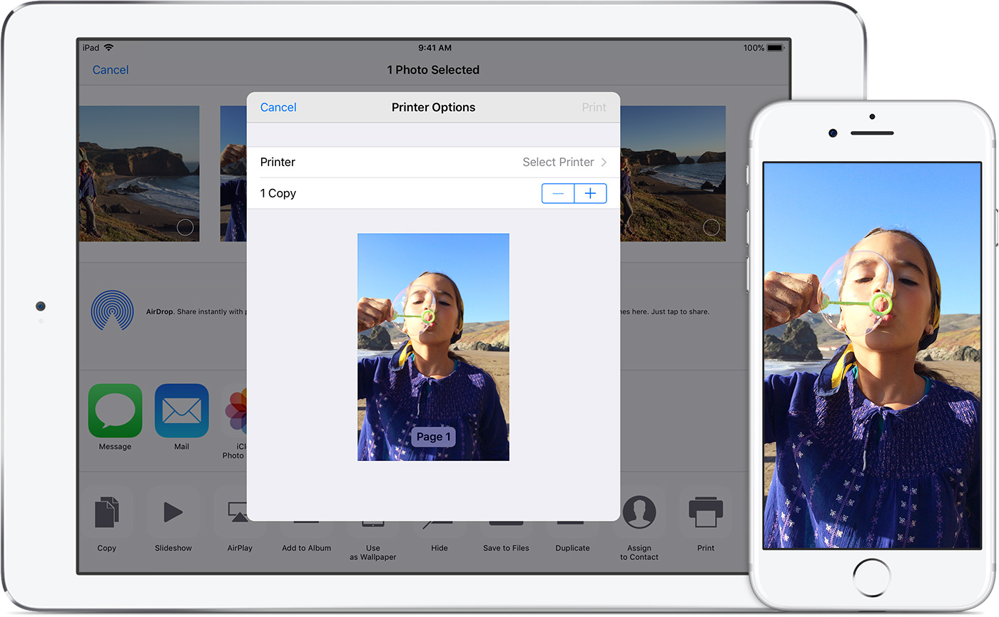 Use Airprint To Print From Your Iphone Ipad Or Ipod