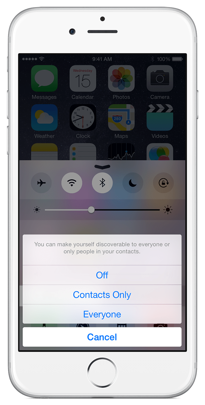 Everyone: All Nearby Ios Devices Using Airdrop Can See Your Device