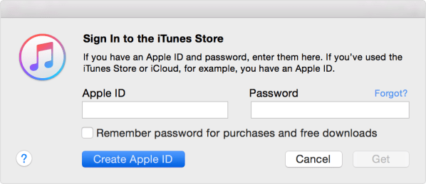 Create an iTunes Store, App Store, or iBooks Store account ...