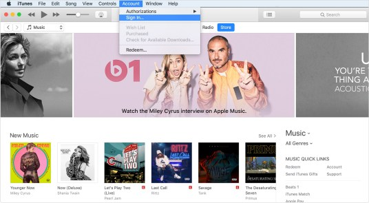 How To Create Apple ID For iTunes Store, App Store And iBooks Store 1