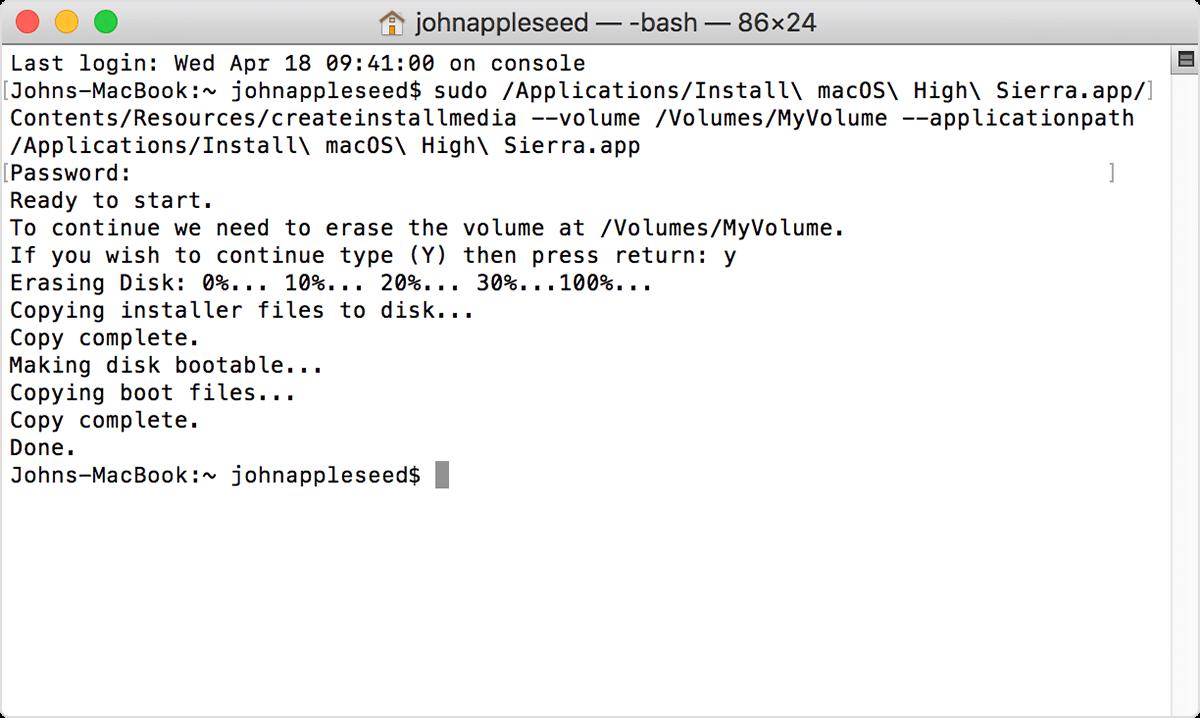 《制作macOS 安装U盘--教程》
