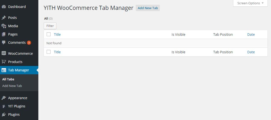 Extended – Woocommerce Tab Manager Module