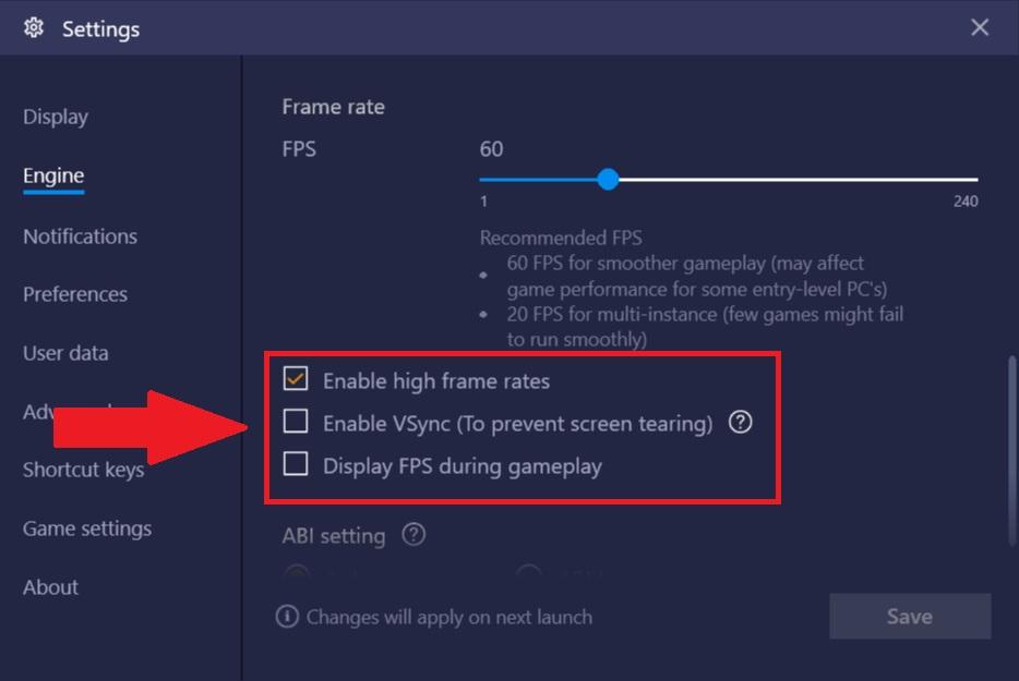 在BlueStacks 4上自定義FPS(每秒幀數) – BlueStacks 支持