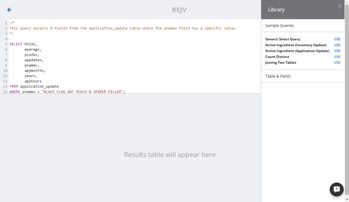 REJV tool 8