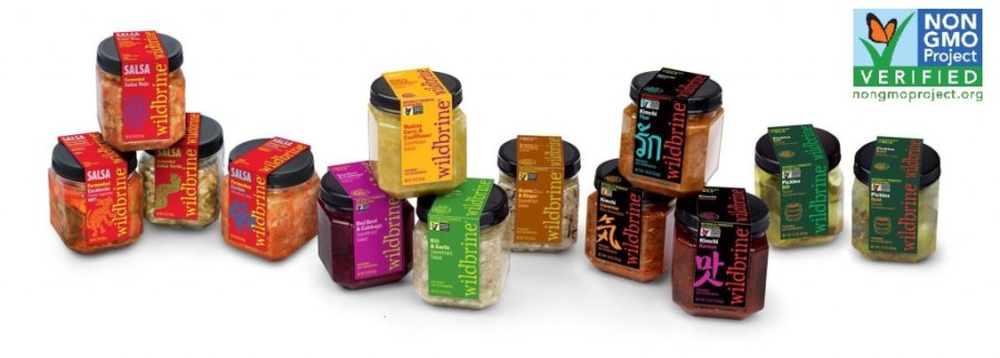 Some of the Wildbrine products made with our Clean Water Systems