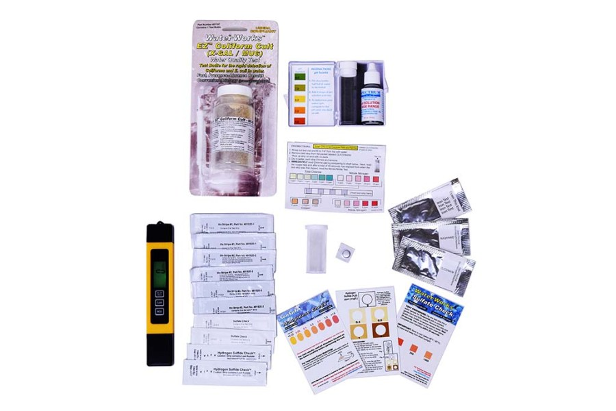Choose right Test Kit for well water test