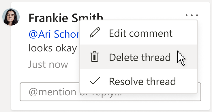 حذف التعليقات في Word للويب - إضافة تعليق أو حذفه في وورد Word