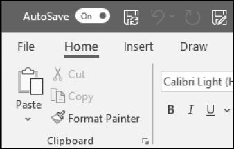 The AutoSave Toggle in Office