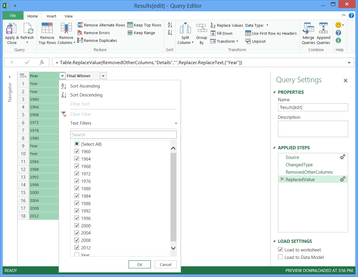 Power Query 101