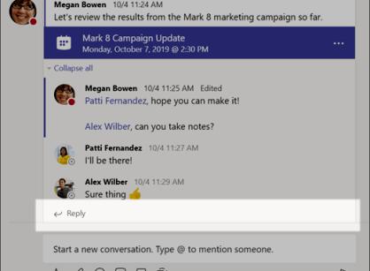 Reply to a conversation - www.office.com/setup