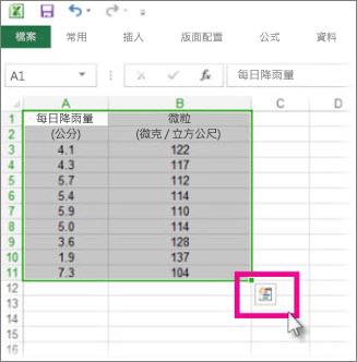 Excel 中的基本工作 - Excel