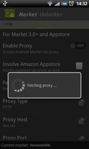 Fetch Proxy