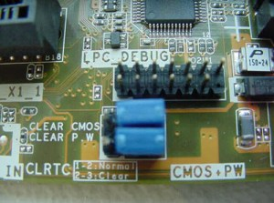 HP and Compaq Desktop PCs  Clear CMOS Setting Printed Incorrectly on the Motherboard | HP