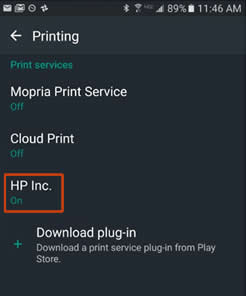 Example of HP Inc.