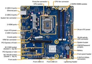 HP and Compaq Desktop PCs  motherboard specifications