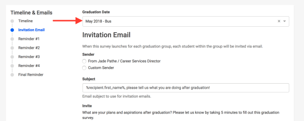Send Custom Invitation and Reminder Emails to Each ...