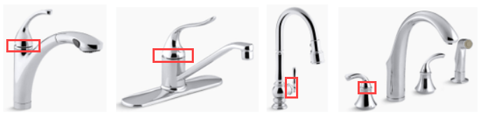 kitchen faucet leaking under the