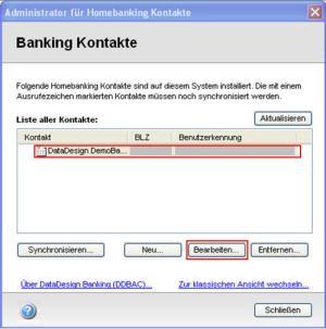Banking Kontakte