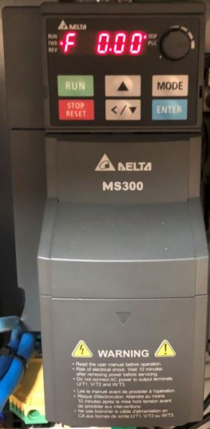 Delta VFD MS300 Instal | MachMotion