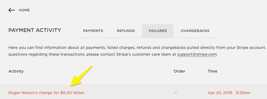 Your credit card payment transaction was declined. Failed Customer Payments Squarespace Help