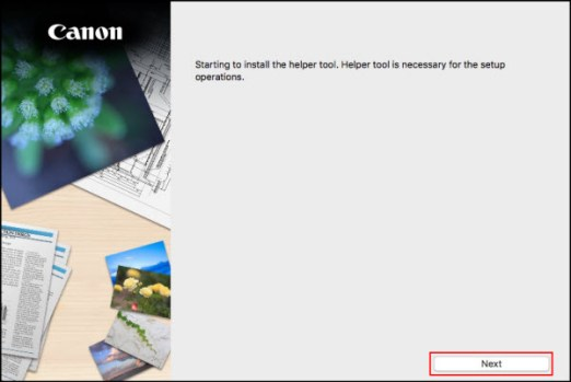 IJ Start Canon TS3120 Mac