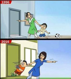 Then and Now: How Times Have Changed