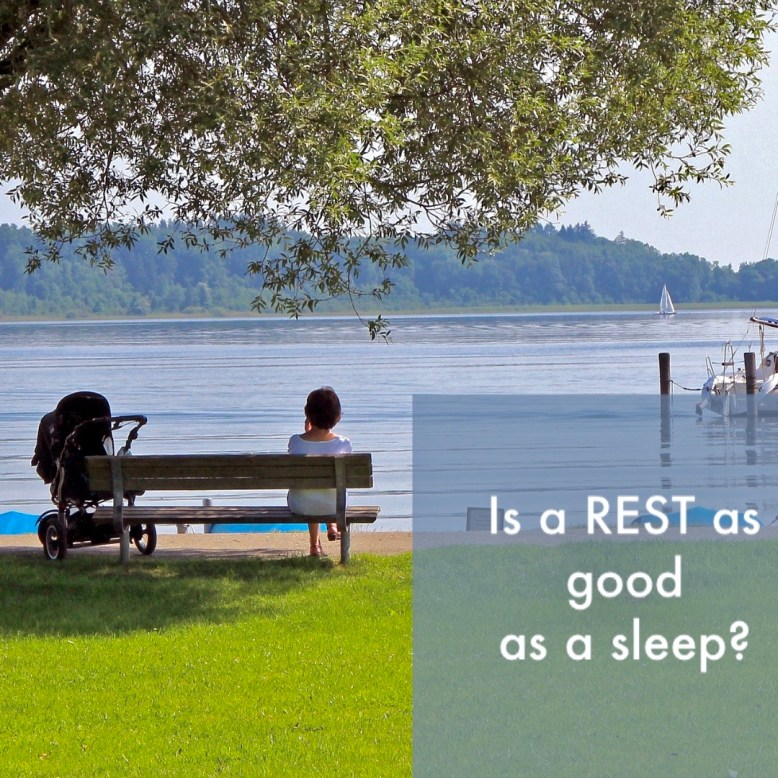 is rest as good as sleep?