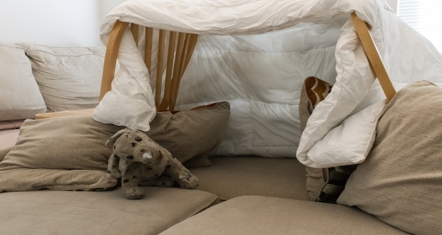 how to build an epic pillow fort