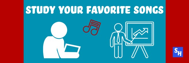 Study Your Favorite Rap Songs