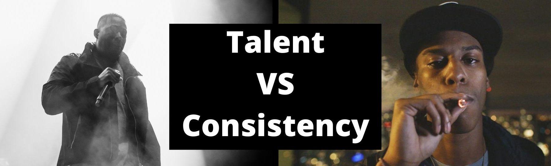 talent vs consistency