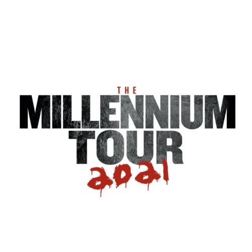 the millennium tour logo