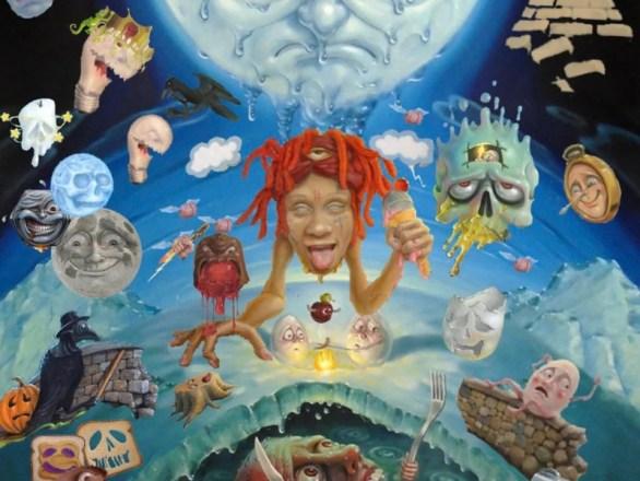 Trippie Redd NFT artwork and album release