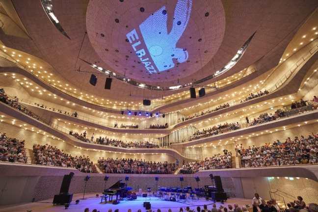 Elbjazz Pressefoto - Atmo der Elbphilharmonie von Claudia Hoehne