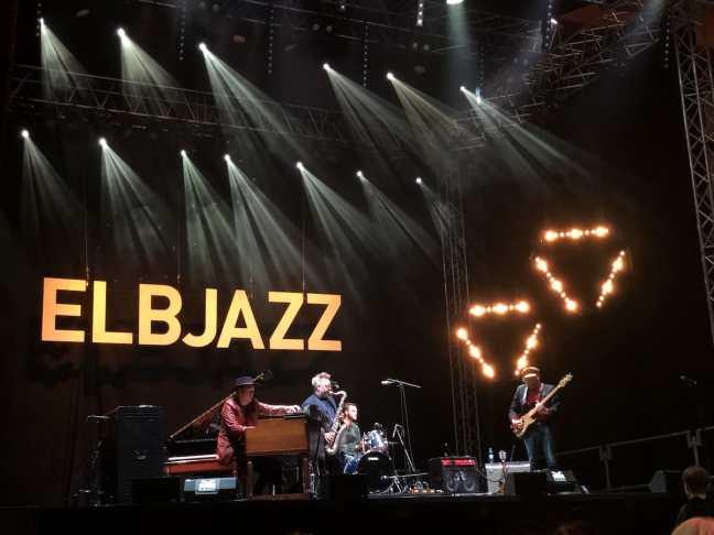 Die isländischen Jazzmusiker von AdHd, Schiffbauhalle