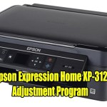 Epson Expression Home XP-312 Resetter