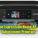 Epson Expression Home XP-422 Resetter