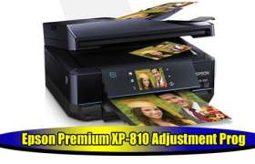 Epson-XP-810 Adjustment Prog