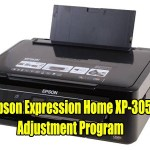 Epson Expression Home XP-305 Resetter