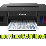 Canon Pixma G1500 Resetter With Tutorial